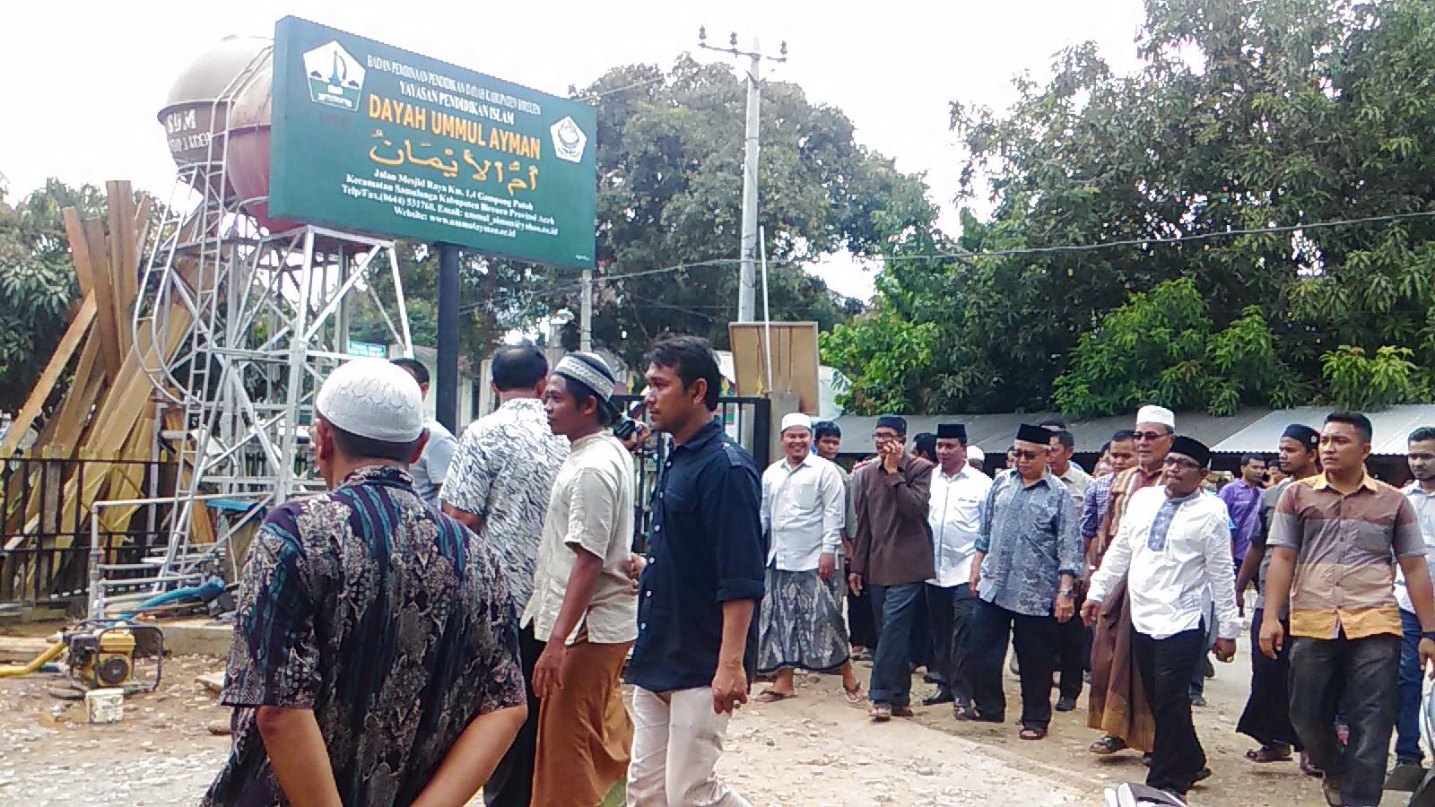 Hari Keempat Banjir, Gubernur Kunjungi Ummul Ayman