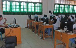 260 Siswa MAS Ummul Ayman Ikuti Simulasi UNBK Pamungkas, Kepala SMP; Kami Segera Menyusul