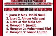 Ummul Ayman Juara 2 Pidato Online Se-Provinsi Aceh