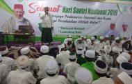 Pesan Ustad  Dr. Mahdir Muhammad, MA Pada Peringatan Hari Santri Nasional 2019