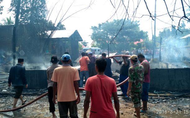 Musibah Kebakaran Melanda Dayah Ummul Ayman II Pijay