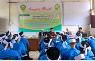 Mengaku Satu Almamater, Calon Doktor di National University of Malaysia Jadi Narasumber pada Seminar di STIS Ummul Ayman Pijay