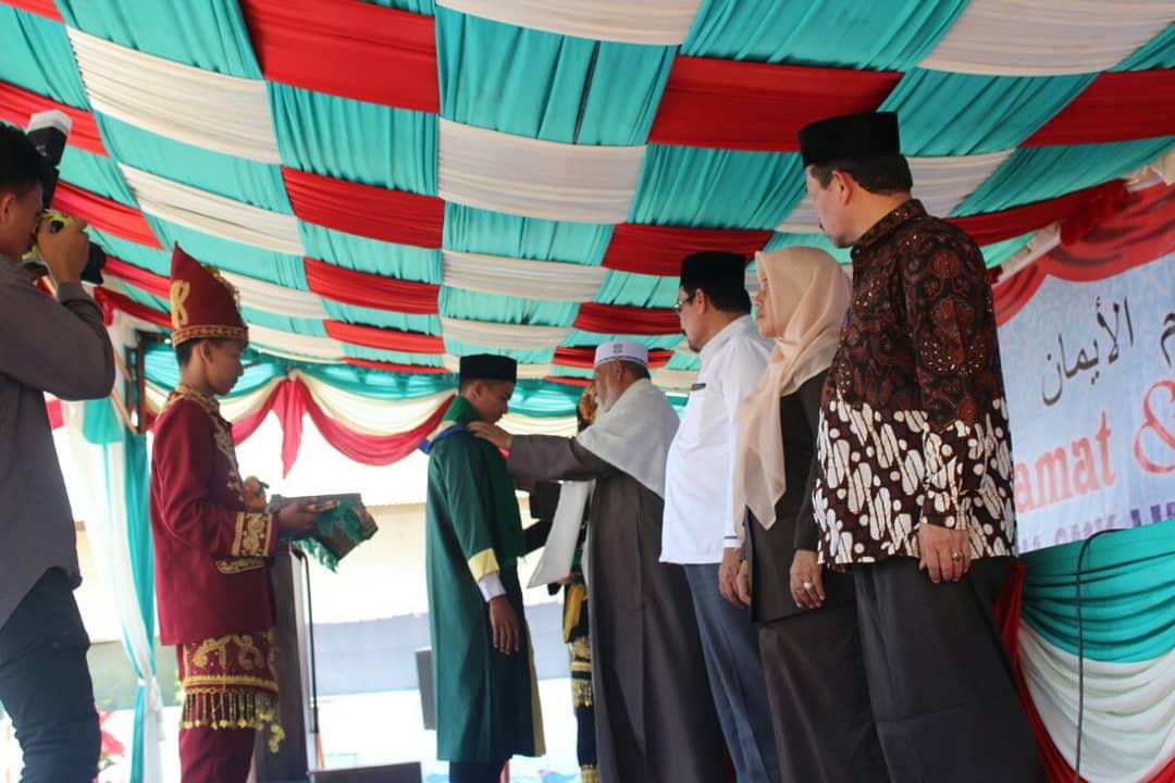SMK Ummul Ayman II Pidie Jaya Wisudakan Angkatan Pertama