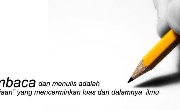 Kurangnya Membaca dan Menulis di Indonesia
