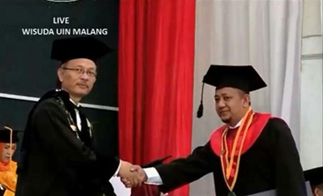 Tgk Mahdir Tiro, Doktor Perdana Asuhan Waled Nu Samalanga Diwisuda di UIN Malang