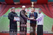Milad Ummul Ayman ke-31 Berakhir, Pidie Kembali Raih Juara Umum